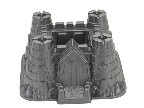 intricate castle shaped bundt pan