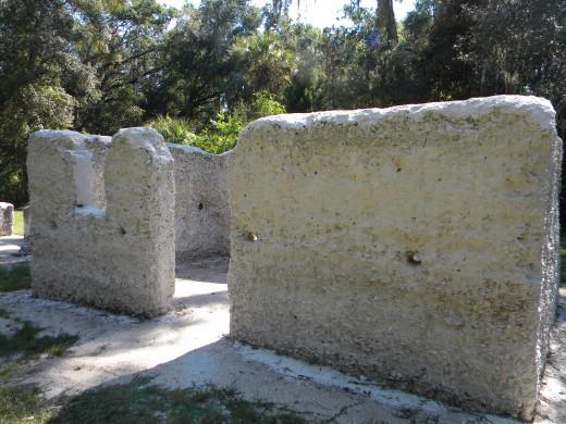 Tabby slave cabin : Kingsley Plantation