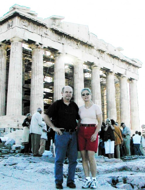 As a Greek who has had my picture taken in front of the Parthenon, I can now die in peace!