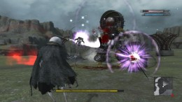 You pick up two unique companions in NIER, and they help you in combat, though you don't directly control them.