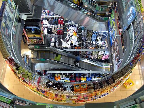 Inside Mustafa Centre. Photo Credit: http://www.flickr.com/photos/factoids/2349704462/