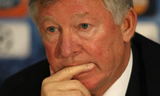 Sir Alex Ferguson. He knows. But he just cant think of the right way of telling.