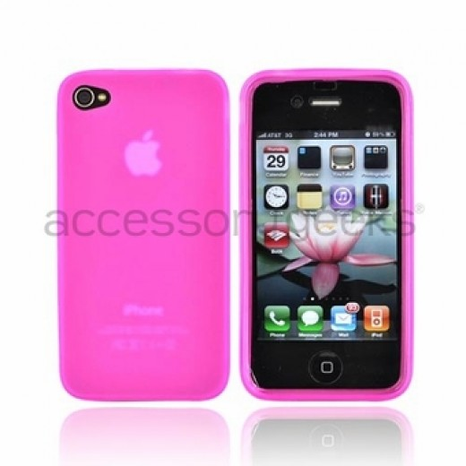 Within the silicone case realm, there are many different types of silicone cases. This particular cell phone case is a crystal silicone case which is a little less gummy than the regular silicone case.