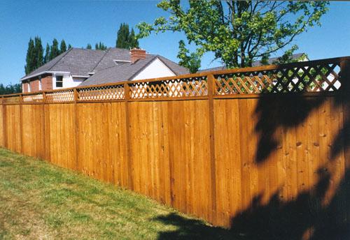 Privacy Fence - Good Neighbor Fence