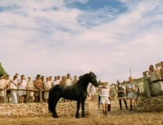 Bucephalus, the horse of Alexander the Great.
