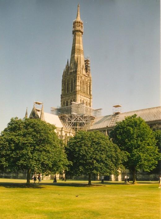 Salisbury Cathedral, Salisbury, England.