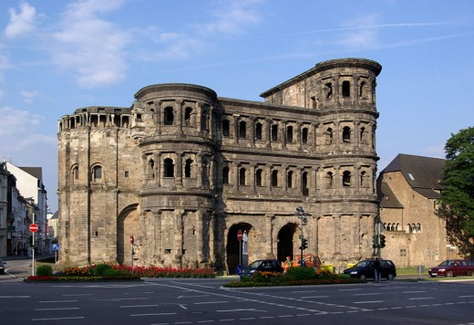 Porta Nigra, Trier, Germany. Photo courtesy of Wikipedia.
