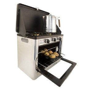 Camp Chef Camping Outdoor Oven with 2 Burner Camping Stove Amazon Price: $170.50 List Price:  $270.99