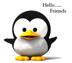 A cute Hello to all my friends!