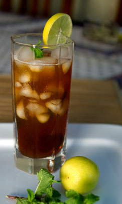 my own simple homemade iced tea