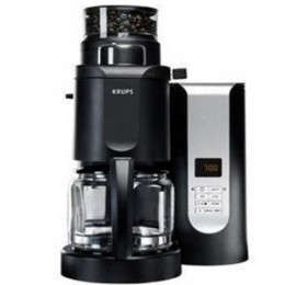 Grind and brew coffee with the KM700 - by Krups