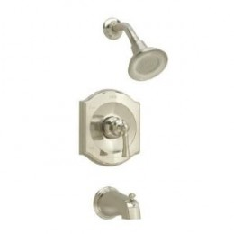 American Standard Shower Head, Lever, Spout Set