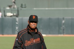 Felipe Alou...Giants' manager for several years after Dusty Baker went to the Cubs.
