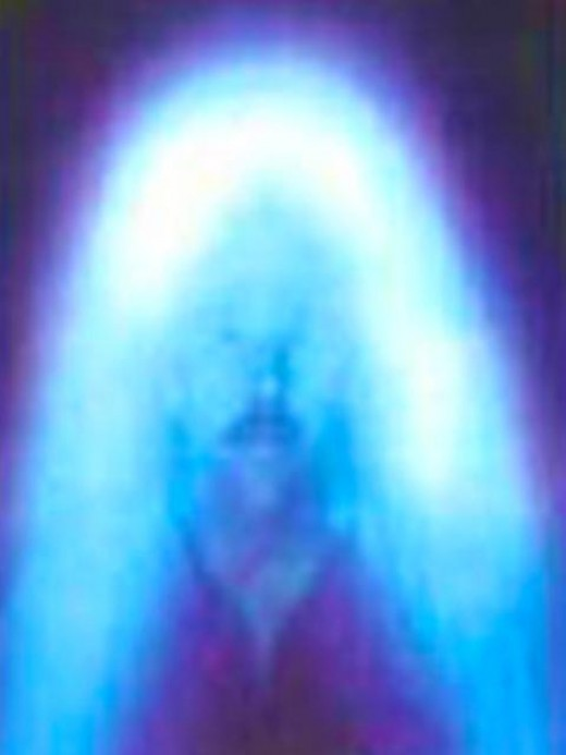 Image of Human energy field; Photo courtesy of University of Itegrated Science Calafornia