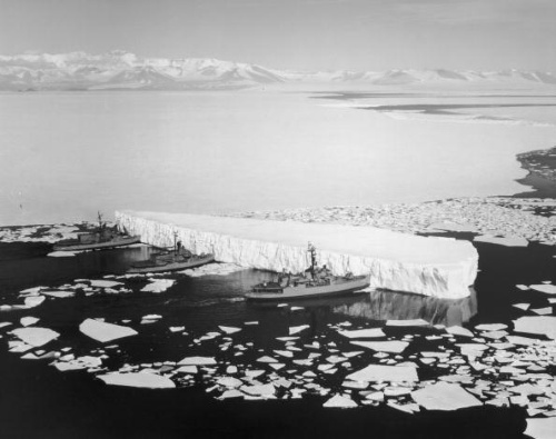The biggest consequence of global warming is the melting of ice.