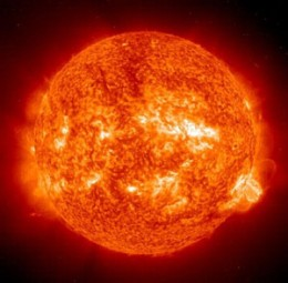 This picture just amazes me that we can even get pictures of objects as far as way as the sun!