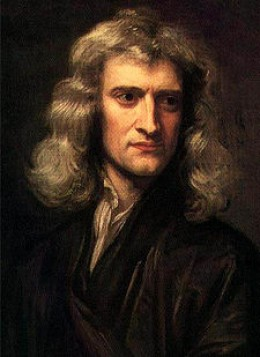Portrait of Isaac Newton (age 46), 1689, by Godfrey Kneller