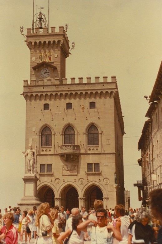 Town Hall, San Marino.