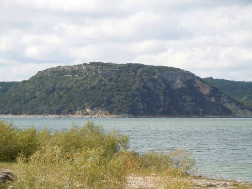 A view across the Lake from the TT Campground