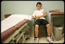 Juvenile rheumatoid arthritis (JRA) causes joint inflammation and stiffness for more than six weeks in a child aged 16 or younger