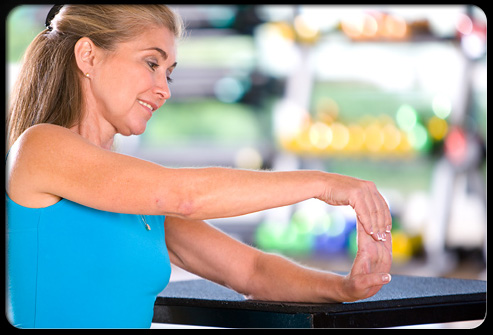Wrist flexion and extension can be done anytime throughout your day.