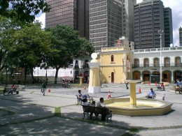The Plaza in Caracas