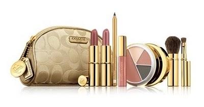 Estee Lauder gold glamour!