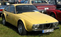 An Alfa Romeo Junior Z