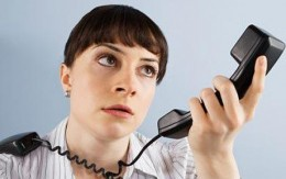 Bad telephone manners lead callers to frustration and anger