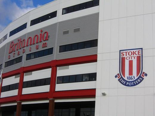 Britannia stadium: Home of Stoke City