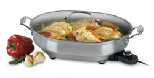cuisinart electric fry pan perfect for a large family!