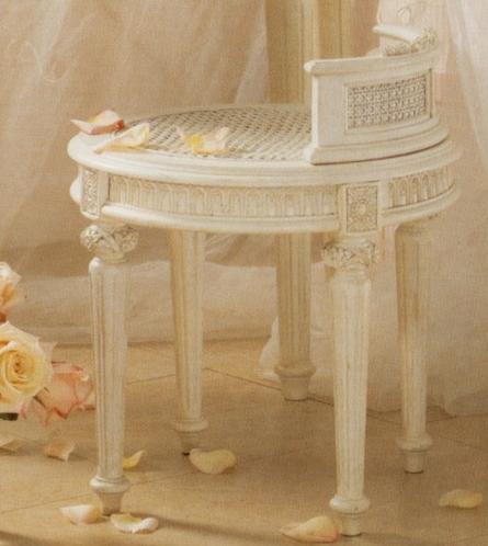 Emma Treasure Vanity Bench - isn't it lovely?