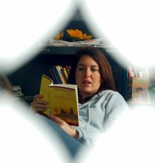 Title:Traci Reading Aloud: Attribution License: everystockphoto.com:Photographer - artfulblogger