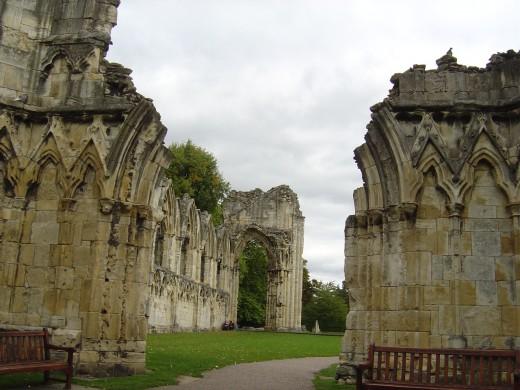 St Marys Abbey York - Haunted York
