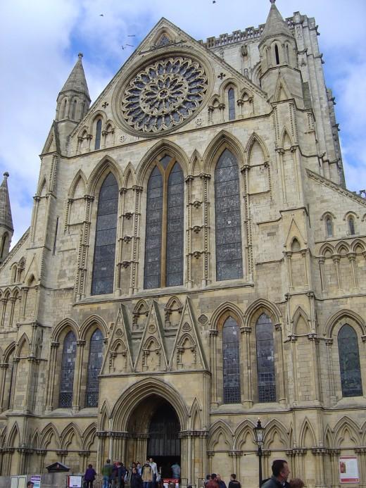 York Minster south transept