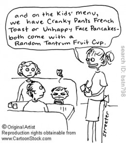 Make Sure There Is A Kids Menu