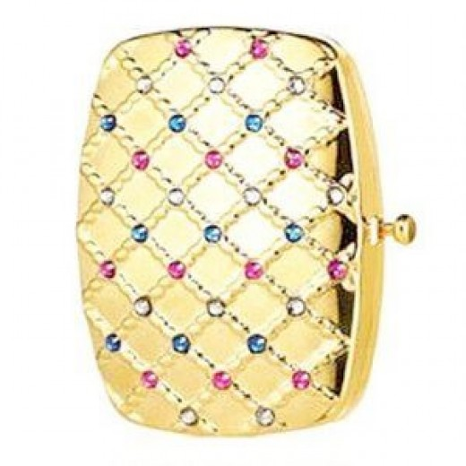 Jeweled Lattice Crystal Compact