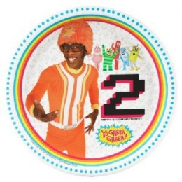 Got a child reaching the age of 2? Buy these great Yo Gabba Gabba! party plates.