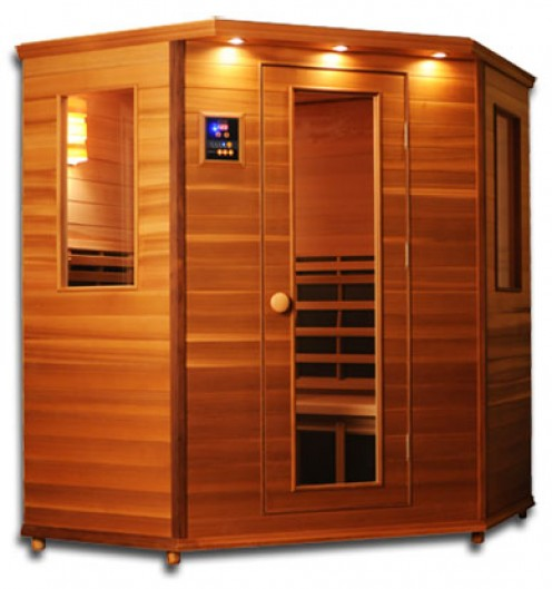 This is the infrared sauna that I own. Feel free to ask me questions, I love talking about it:)
