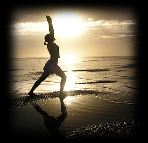 I don't really dig yoga class...I find it hard to clear my mind. But I love yoga outdoors. Even adding sun salutations to your day will make a difference in stress levels.
