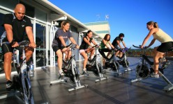 Try a spin class. I always go in feeling sluggish and leave as a completely new person.