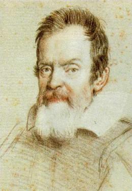 Galileo Galilei. Image from Wikipedia