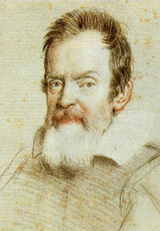 Galileo Galilei. Image from Wikipedia