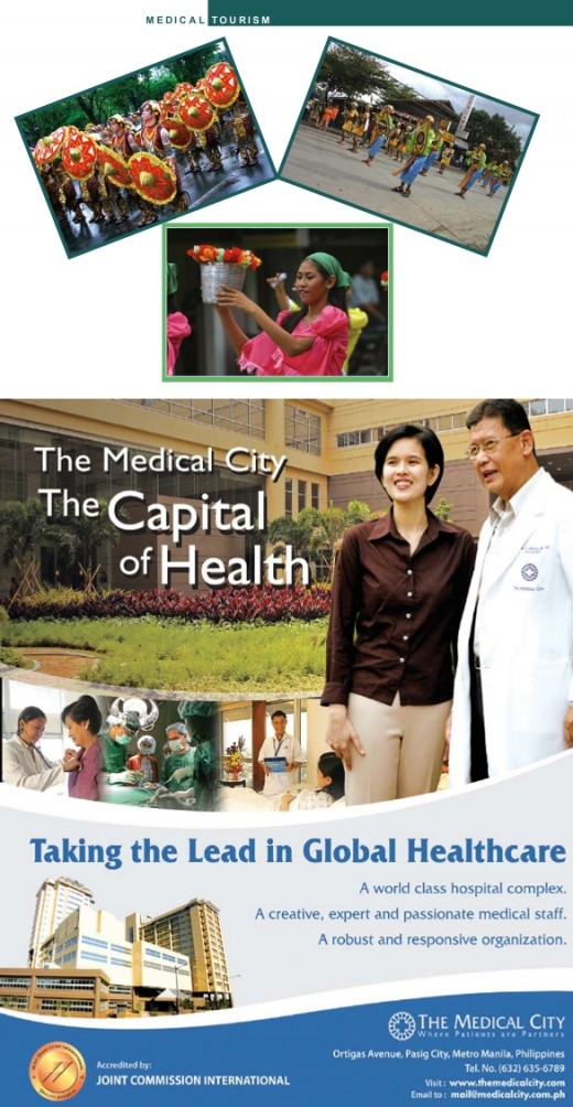 Philippines Ad in Medical Tourism Magazine