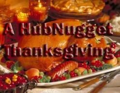 Thanksgiving - A Thankful HubNugget Holiday Hub