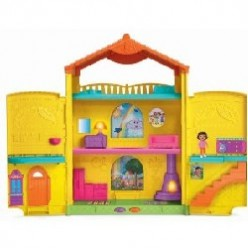 Buy A Dora Dollhouse - Dora Explorer Window Surprises Dollhouse