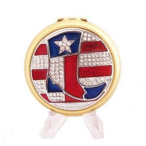 Lone Star Texas Estee Lauder Crystal Lucidity Powder Compact