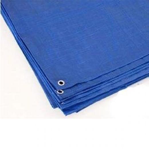 Reinforced Rip-Stop Polyethylene Tarps