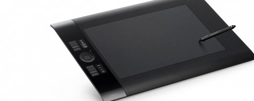 Wacom graphics tablet for artists and design professionals.