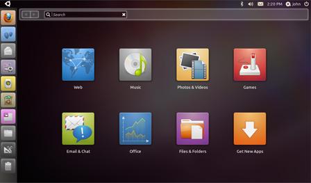 The Unity Desktop